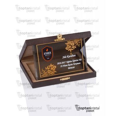 Deri Kutulu Plaket PB-2012 C