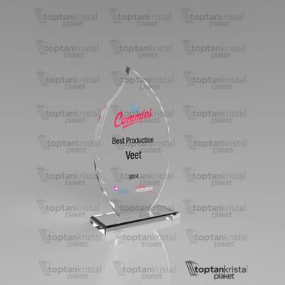 Kristal Plaket PB-205